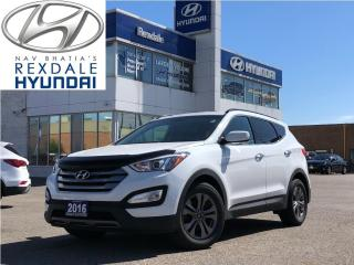 Used 2016 Hyundai Santa Fe Sport 2016 Hyundai Santa Fe Sport - AWD 4dr 2.0T Premium for sale in Toronto, ON