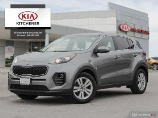 Used 2017 Kia Sportage LX - CARFAX CLEAN, ONE OWNER for sale in Kitchener, ON