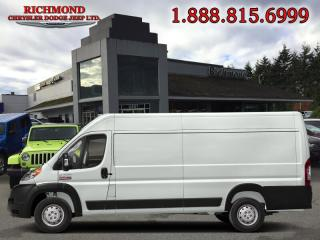 Used 2019 RAM 3500 ProMaster High Roof Extended 159 in. WB for sale in Richmond, BC