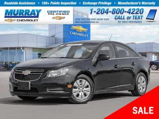 Used 2014 Chevrolet Cruze 1LT *Remote Start, Climate Control, USB Port* for sale in Winnipeg, MB