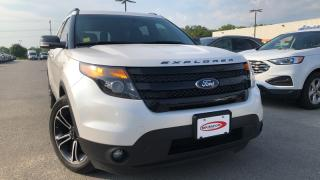 Used 2015 Ford Explorer Sport 3.5l Eco Leather Navigation for sale in Midland, ON
