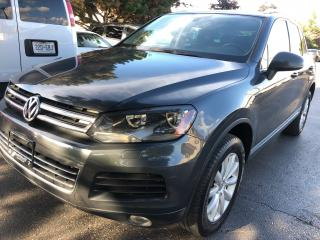 Used 2012 Volkswagen Touareg 2012 Volkswagen Touareg -  TDI NAVIGATION PANORAMI for sale in Concord, ON