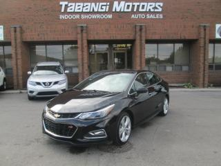 Used 2016 Chevrolet Cruze PREMIER   RS PACKAGE   NAVIGATION   LEATHER   SUNROOF for sale in Mississauga, ON