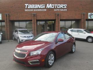 Used 2015 Chevrolet Cruze LT NO ACCIDENTS BIG SCREEN REARCAM REMOTE START BT for sale in Mississauga, ON