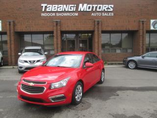 Used 2015 Chevrolet Cruze LT | BIG SCREEN | REARCAM | REMOTE START | APPS | BT for sale in Mississauga, ON