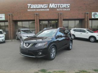 Used 2014 Nissan Rogue SL AWD - NAVIGATION - 360 CAM - LEATHER - PANO ROOF - BT for sale in Mississauga, ON