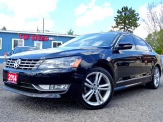 Used 2014 Volkswagen Passat Highline TDI DSG Navi Back-Up Roof Bluethooth Certified for sale in Guelph, ON