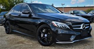 Used 2016 Mercedes-Benz C 300 |AMG PACKAGE|LEATHER|COMFORT ACCESS for sale in Brampton, ON