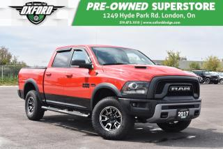 Used 2017 RAM 1500 Rebel - Awesome Rims+Tires, Bedliner, Tonneau Cove for sale in London, ON