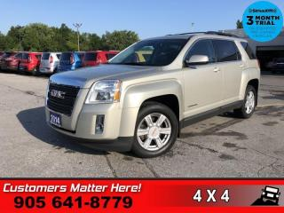 Used 2014 GMC Terrain SLE-2  AWD P/SEAT HS CAM REMOTE PREM-AUDIO for sale in St. Catharines, ON
