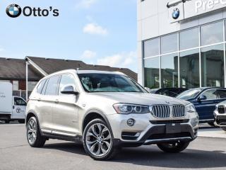 Used 2016 BMW X3 xDrive28i NAV, SUNROOF, LOADED for sale in Ottawa, ON