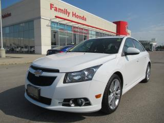 Used 2013 Chevrolet Cruze LT Turbo, Fully Loaded GAS SAVER! for sale in Brampton, ON