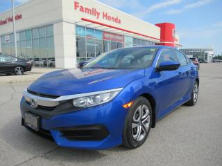 Used 2016 Honda Civic LX, ECO MODE, BACK UP CAM! for sale in Brampton, ON