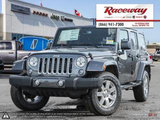 Used 2017 Jeep Wrangler Unlimited Sahara | ONE OWNER for sale in Etobicoke, ON