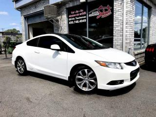Used 2012 Honda Civic 2 portes, boîte manuelle, Si NAVIGATION for sale in Longueuil, QC