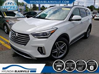Used 2017 Hyundai Santa Fe XL AWD ULTIMATE 6 PASSAGERS,CAMÉRA 360,NAVIGATION+ for sale in Blainville, QC