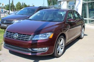 Used 2014 Volkswagen Passat COMFORTLINE for sale in Lasalle, QC
