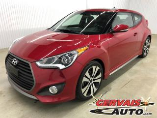 Used 2016 Hyundai Veloster Turbo GPS Cuir Toit Panoramique MAGS Bluetooth for sale in Shawinigan, QC