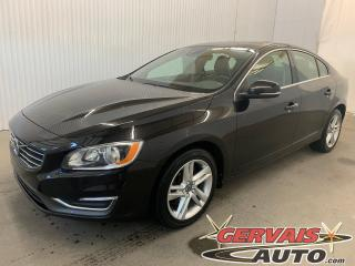 Used 2015 Volvo S60 T5 Premier Mags Cuir Toit ouvrant Sièges chauffants Caméra de recul GPS Bluetooth A/C for sale in Shawinigan, QC