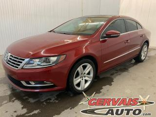 Used 2014 Volkswagen Passat CC Sportline Cuir Toit Ouvrant MAGS Caméra Bluetooth for sale in Shawinigan, QC