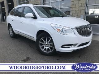 Used 2017 Buick Enclave Leather NO ACCIDENTS, 3.6L V6, SUNROOF, LEATHER HEATED SEATS for sale in Calgary, AB