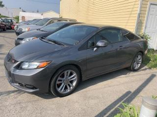 Used 2012 Honda Civic WOW!! Manuel for sale in Pointe-Aux-Trembles, QC