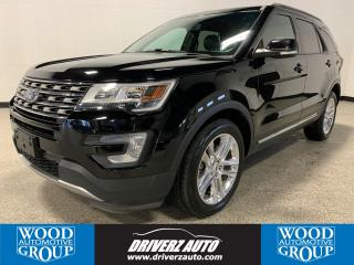 Used 2016 Ford Explorer XLT CLEAN CARFAX, NAVIGATION, DUAL PANEL SUNROOF for sale in Calgary, AB