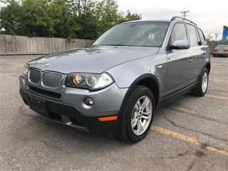 Used 2007 BMW X3 3.0I for sale in Ottawa, ON