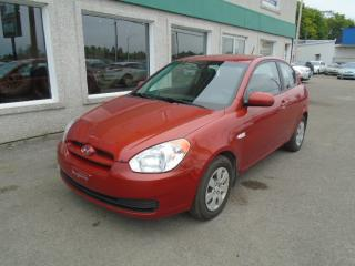 Used 2010 Hyundai Accent Hayon 3 portes, boîte automatique, GL for sale in St-Jérôme, QC