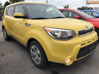 Used 2016 Kia Soul LX Auto, Air, Cruise, Pwr Windows, Bluetooth, Keyless Entry and Fog Lights! for sale in Kemptville, ON