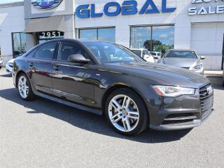 Used 2016 Audi A6 3.0T Premium Plus quattro NAVIGATION LEATHER for sale in Ottawa, ON
