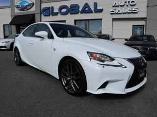 Used 2015 Lexus IS 250 250 AWD NAVI LEATHER CAM for sale in Ottawa, ON