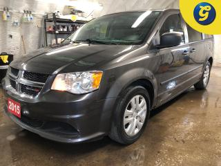 Used 2015 Dodge Grand Caravan Stow N Go seating * Lane change assist * Economy mode * Dual climate control * Telescopic/tilt steering * Phone connect * Hands free steering wheel co for sale in Cambridge, ON