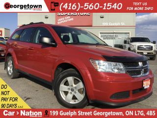 Used 2016 Dodge Journey SE Plus | 7 PASS | BLUETOOTH | 66,092KMS | for sale in Georgetown, ON