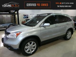 Used 2009 Honda CR-V EX-L| 4WD| NAVIGATION| LTHR| SUNROOF for sale in Vaughan, ON
