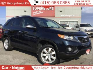 Used 2012 Kia Sorento LX | HTD SEATS | BLUETOOTH | CRUISE | for sale in Georgetown, ON