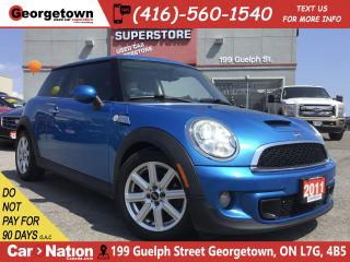 Used 2011 MINI Cooper S CLEAN CARFAX | NAVI | SUNROOF | 122, 767KM for sale in Georgetown, ON