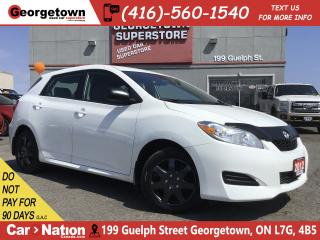 Used 2012 Toyota Matrix 1.8L 4 CYL | POWER OPTIONS | WELL MAINTAINED for sale in Georgetown, ON