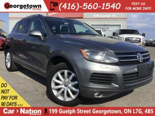 Used 2014 Volkswagen Touareg 3.0 TDI | NAVI | BACK UP | LEATHER | AWD | DIESEL for sale in Georgetown, ON