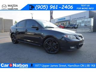 Used 2007 Mazda MAZDA3 GT | LEATHER | SUNROOF | HEATED SEATS for sale in Hamilton, ON