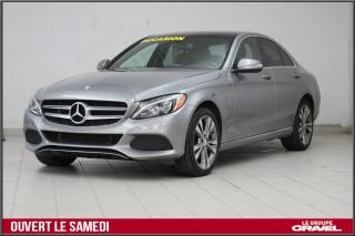 Used 2015 Mercedes-Benz C-Class 300 GPS TOIT CUIR 4MATIC AWD for sale in Montréal, QC