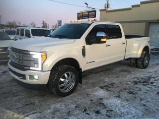Used 2018 Ford F-350 Platinum à vendre DRW TurboDiesel Cuir for sale in Laval, QC