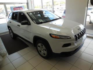 Used 2014 Jeep Cherokee SPORT AUTO TRACTION AVANT A/C CRUISE BT for sale in Dorval, QC