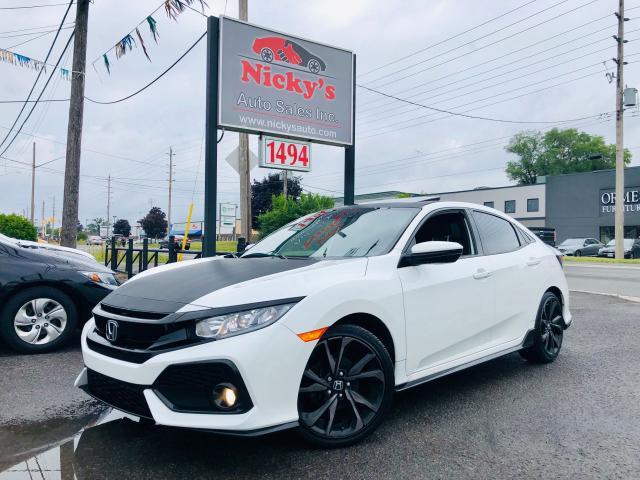 2017 Honda Civic Hatchback SPORT W/ HONDA SENSING - AUTO - TURBO!