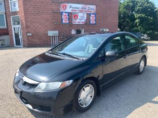 Used 2010 Honda Civic SUMMER BLOWOUT $400 OFF/ONE OWNER/NO ACCIDENT for sale in Cambridge, ON