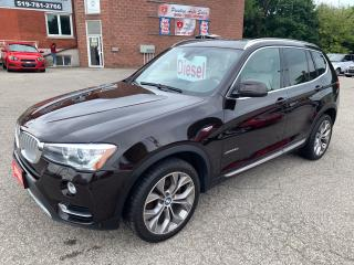 Used 2015 BMW X3 SUMMER BLOWOUT $400 OFF/xDrive28d/DIESEL/4WD for sale in Cambridge, ON