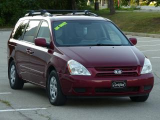 Used 2009 Kia Sedona NO-ACCIDENTS, BLUETOOTH, POWER OPTIONS,-CERTIFIED- for sale in Mississauga, ON