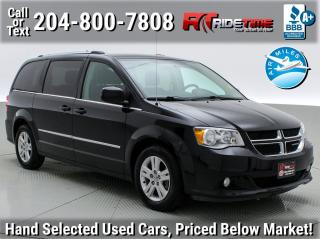 Used 2016 Dodge Grand Caravan Crew for sale in Winnipeg, MB