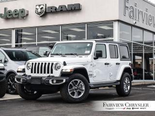 New 2019 Jeep Wrangler Unlimited Sahara 4X4 for sale in Burlington, ON