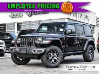 Used 2020 Jeep Wrangler Unlimited Rubicon for sale in Burlington, ON